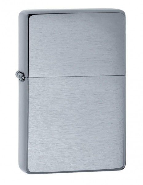 Zippo Lighter Vintage Brushed Chrome 23025