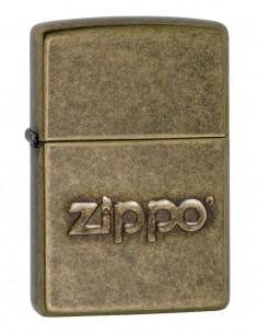 Original Zippo Upaljač Antique Brass Zippo Stamp 28994