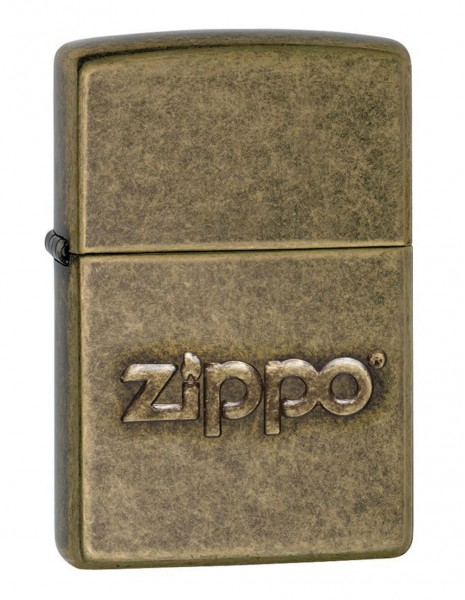 Original Zippo Lighter  Antique Brass Zippo Stamp 28994