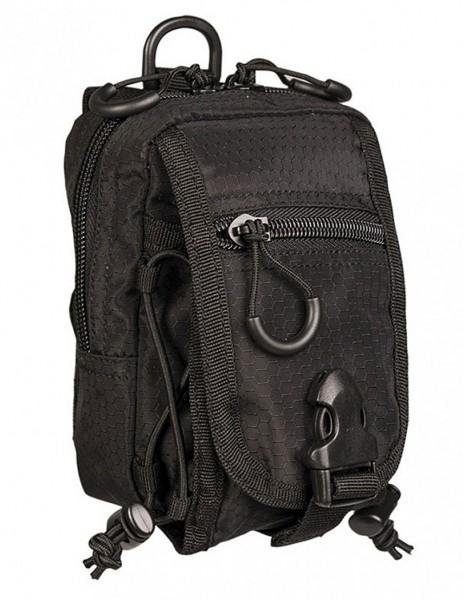Miltec HexTac Molle Pouch Black 13485002 Sale