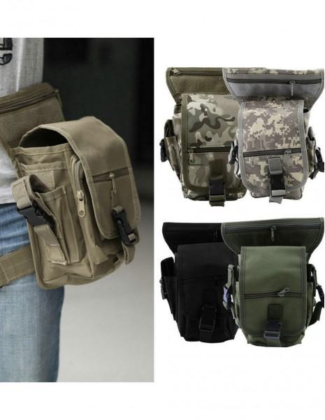 Miltec Drop Leg Moto Multi Pack Black 13526002