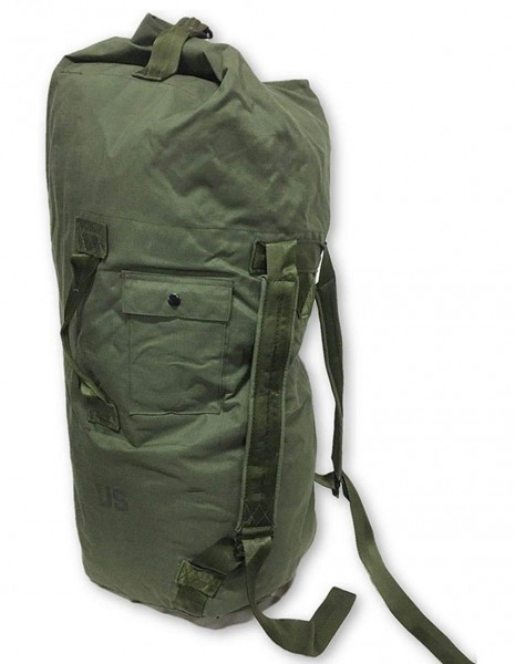 Original US Army Canvas Duffle Bag Olive 91380500