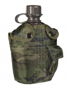 US Vojnička Planinarska Čutura Za Vodu S Futrolom Woodland 13493020