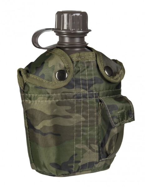 US Canteen With Cover Woodland 13493020