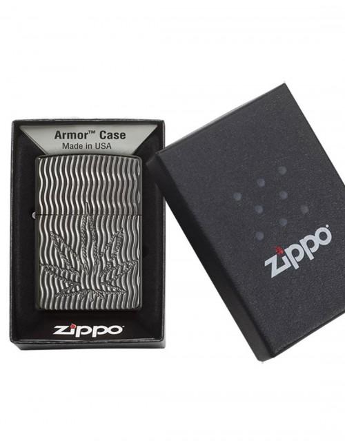 Original Zippo Upaljač Armor Marihuana List 29612