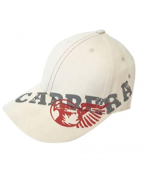 Baseball Visor Cap Carrera Eagle White