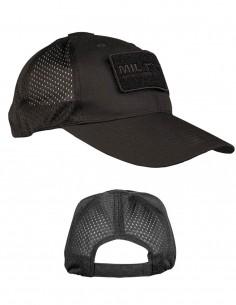 Miltec Tactical Net Baseball Summer Cap Black 12317602