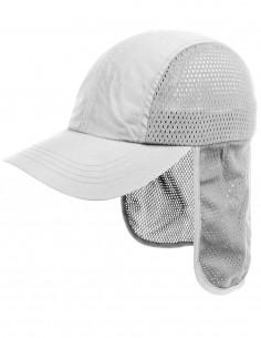 Mesh Kapa S Zaštitom Za Vrat UV50 Zaštita od Sunca Bijela