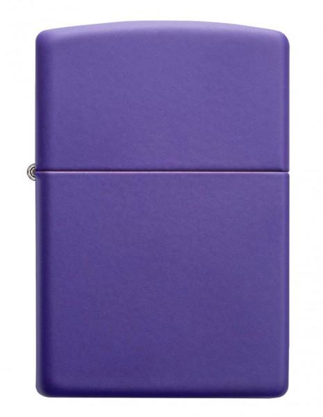 Original Zippo Lighter Classic Purple Matte 237