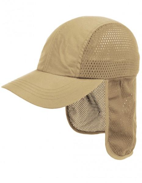Mesh Kapa S Zaštitom Za Vrat UV50 Khaki
