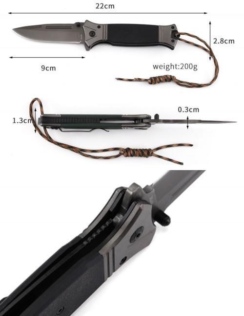 Browning 364B Preklopni Nož Titanium G10