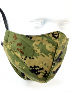 Double-layer Washable Teflon Protective Mask Cropath Forest