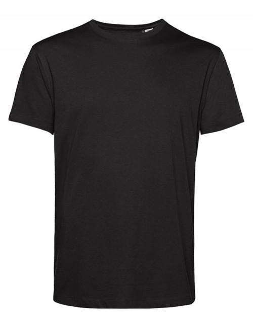 Organic Cotton T-Shirt Short Sleeve Black