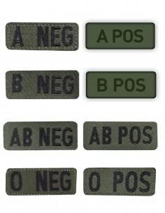 Oznaka Velcro Krvna Grupa Olive