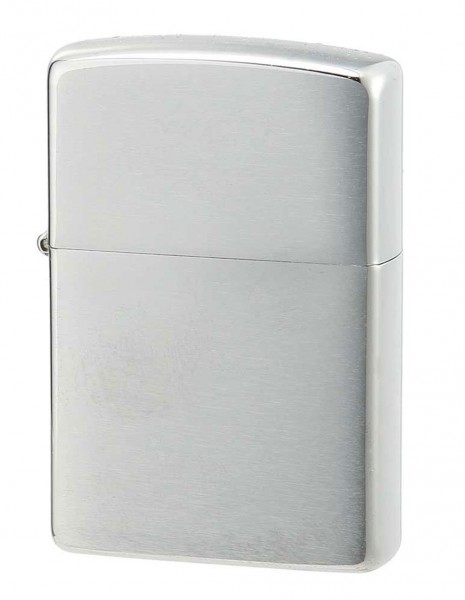Original Zippo Lighter Brushed Chrome 200 Sale