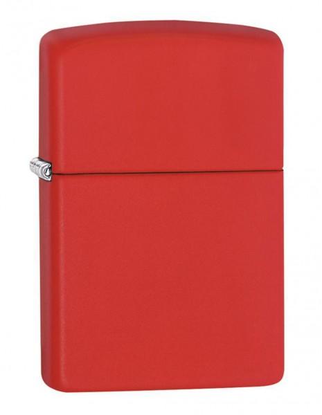 Original Zippo Lighter Red Matte 233