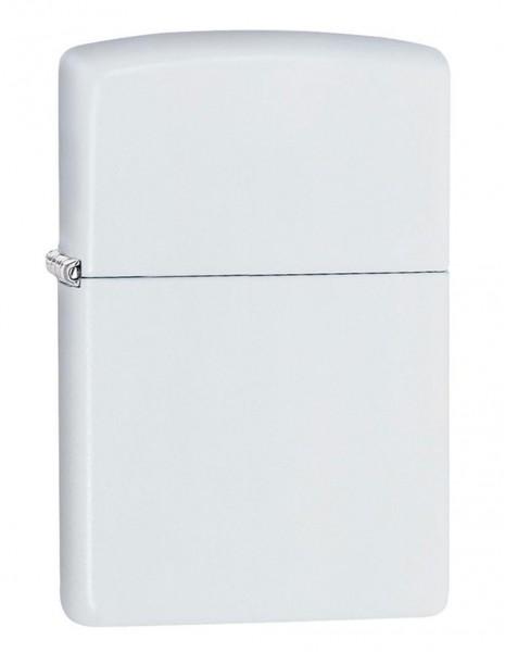 Original Zippo Lighter White Matte 214