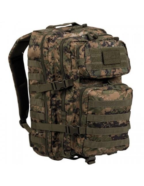 Outdoor Backpack Assault 36L Digital Woodland