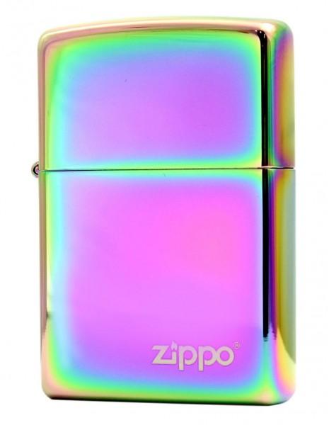 Original Zippo Lighter Spectrum Multi Color High Polish Zippo Logo 151ZL