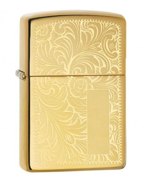 Zippo Lighter Venetian Brass 352B