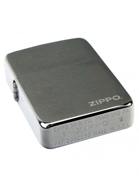 Original Zippo Lighter Replica 1941 Black Ice Zippo Logo 24485