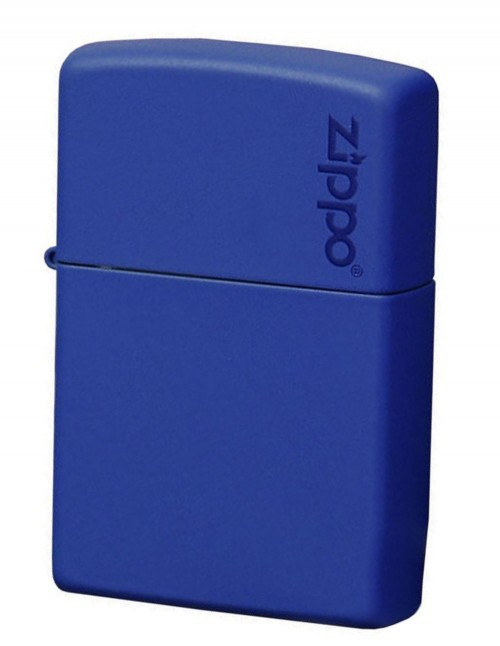 Original Zippo Upaljač Royal Blue Matte Zippo Logo 229