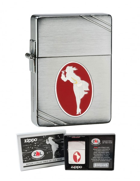Zippo Lighter Windy Collectable Edition 2013 28729