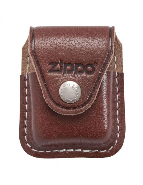 Original Zippo Lighter Pouch Clip Brown 170602