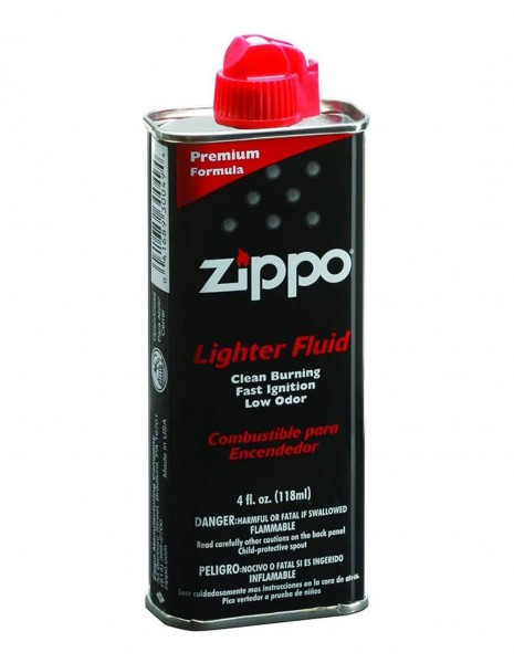 Original Zippo Premium Lighter Fuel 118ml