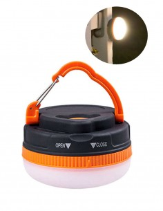 Mini LED Flashlight Lantern Magnet L240