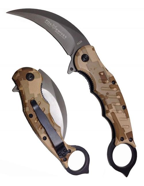 Fox Pocket Knife Karambit Claw FA33