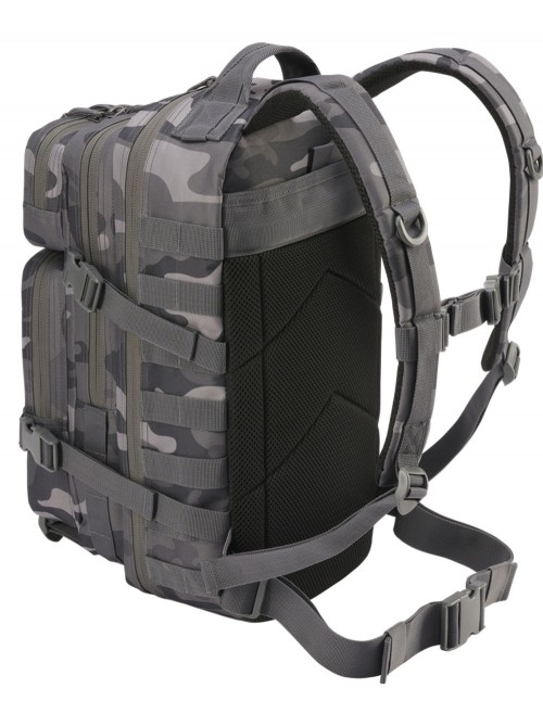 Brandit Camping Hiking Army Molle Backpack US Cooper Medium Gray Camo 8007