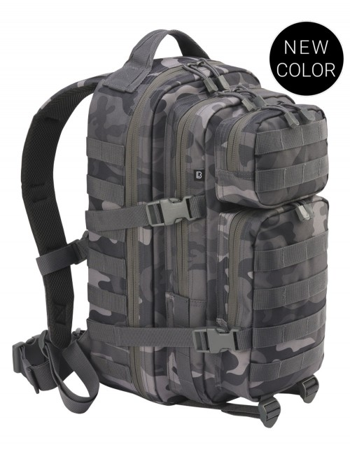 Brandit Camping Hiking Army Molle Backpack US Cooper Large Gray Camo