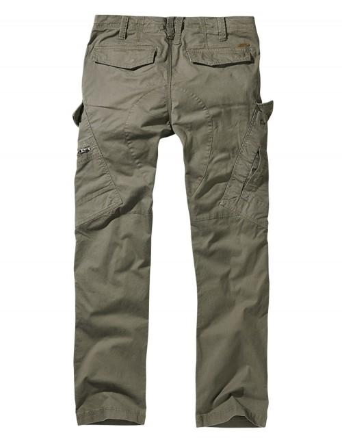 Brandit Adventure Slim-Fit Planinarske Outdoor Hlače Olive 9470