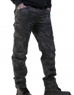 Brandit Adventure Slim Fit Outdoor Trousers Dark Camo 9470