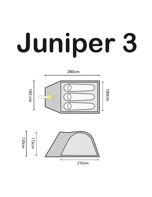 Highlander Šator Juniper 3 Osobe TEN127