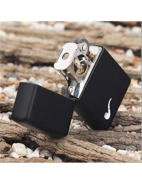 Original Zippo Lighter Black Matte Pipe 218PL