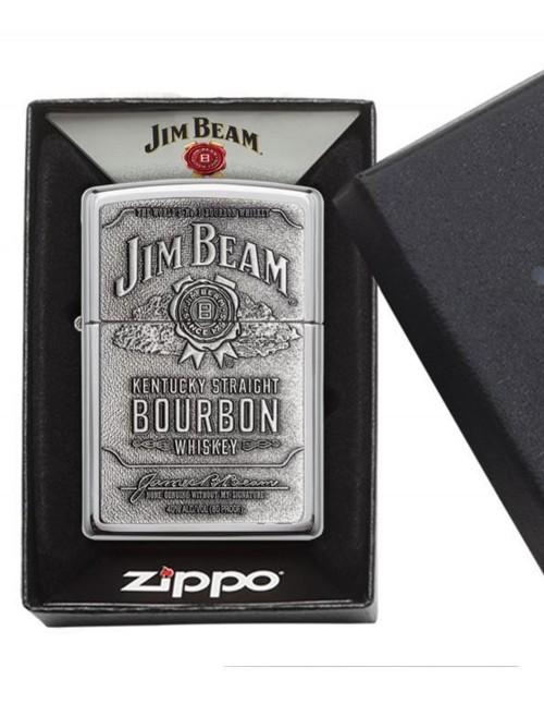 Original Zippo Lighter Jim Beam Amblem Brass 250JB.928