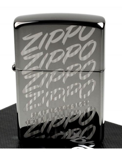 Original Zippo Upaljač Black Ice Zippo Script 29631