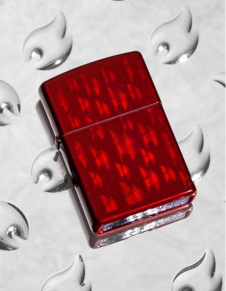 Zippo Upaljač Iced Zippo Flame Design 29824