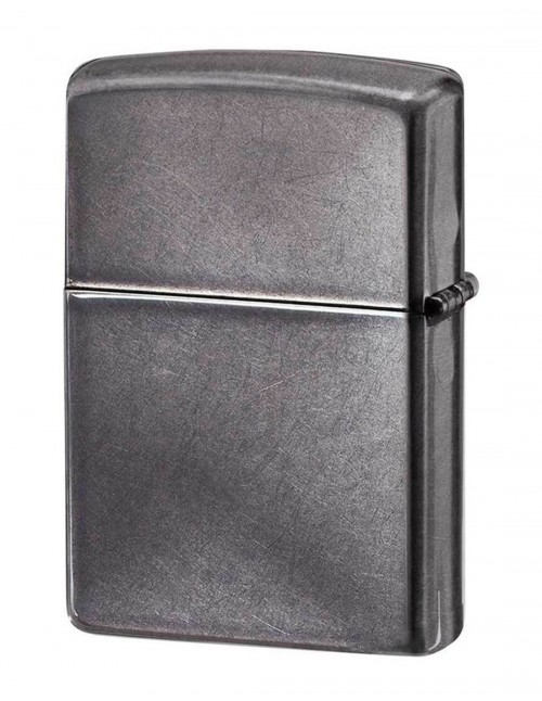 Original Zippo Lighter Classic Design Gray Dusk 28378