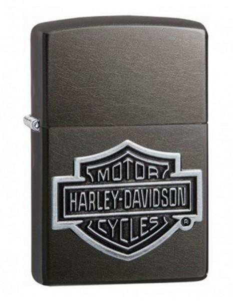 Original Zippo Upaljač Gray Dusk Amblem Harley-Davidson Cycles 60004457