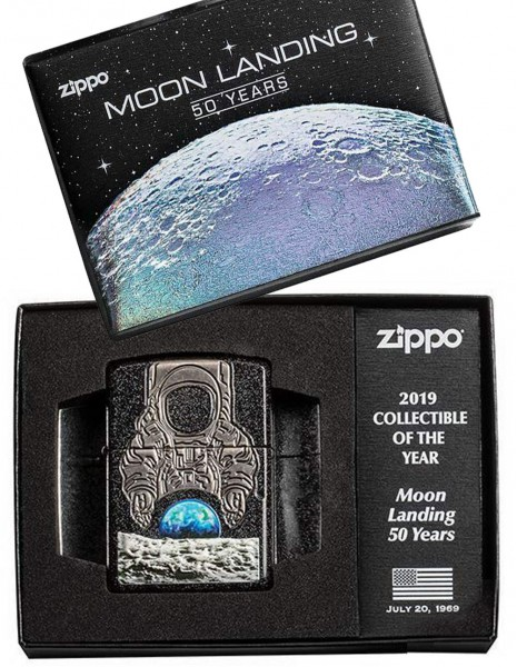 Zippo 50th Anniversary Moon Landing Apollo Mission 11 Limited Edition 29862