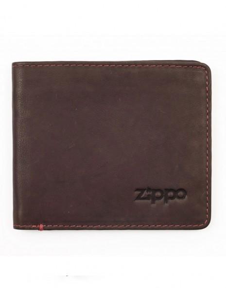 Zippo 2005119 Original Zippo Genuine Leather Wallet Bi-Fold