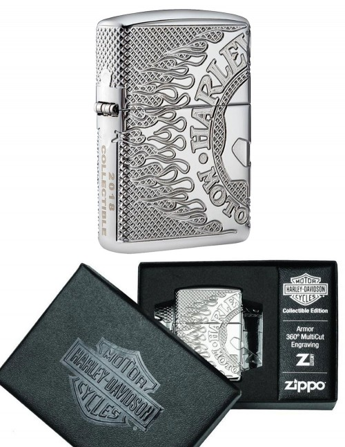 Original Zippo Lighter Harley-Davidson® Collections 2018 Limited Edition 29741