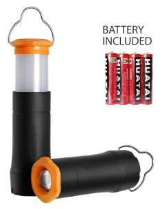 Mini Flashlight Lantern Rubber