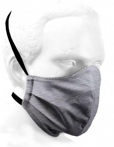 Double-layer Washable Protective Mask Grey