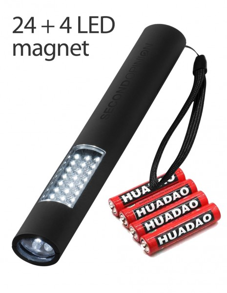 Yonglin 28 LED Flashlight Lantern Magnet 8212