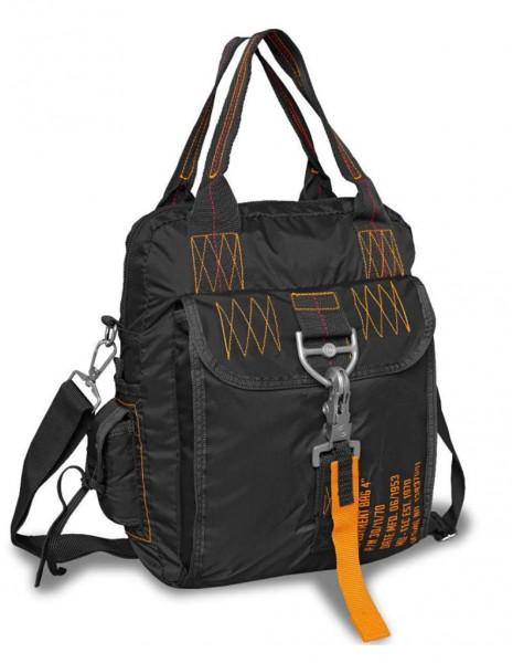 """Paratrooper Hiking outdoor Bag Deployment Bag 4"""" Black 13837002"""