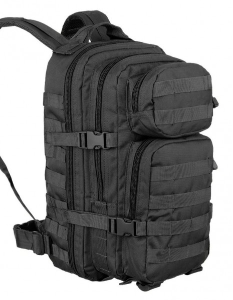 Miltec Outdoor Camping Hiking Army Backpack 25L Black 14002002